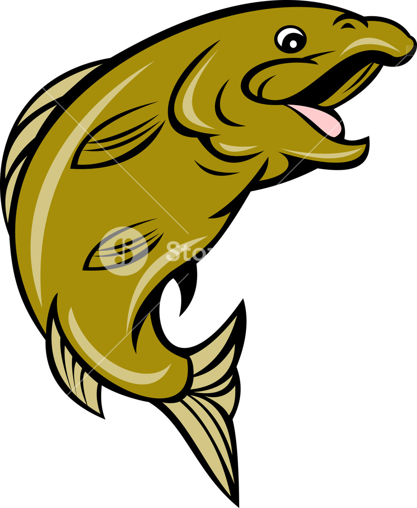 821x1000 Clip Art Fish Jumping Illustrations And Stock 4 485