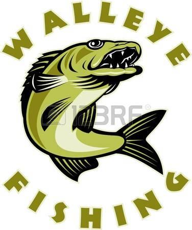 376x450 Trout Clipart Walleye