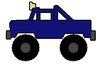 330x217 Clipart Truck 4x4
