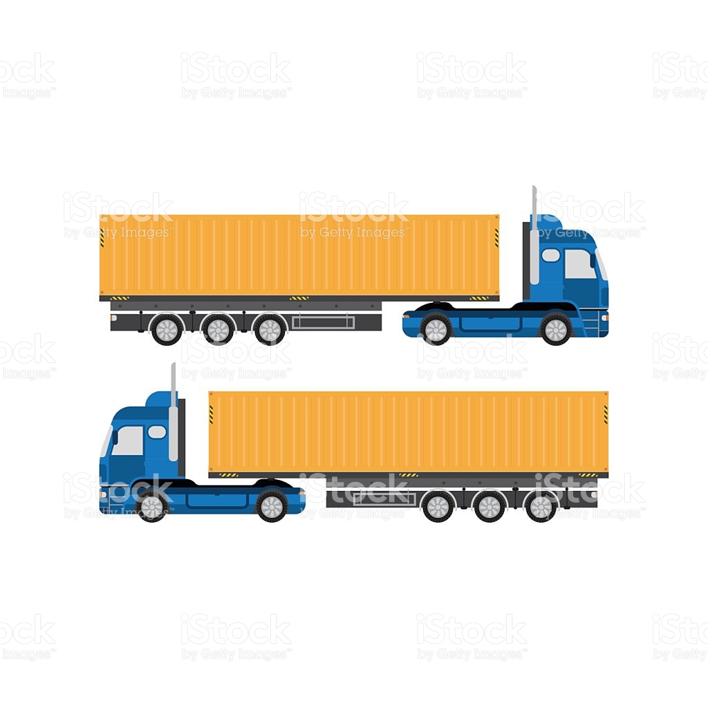 1024x1024 Container Clipart Big Truck