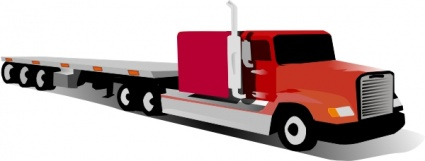 425x161 Free Download Of Container Truck Clip Art Vector Graphic