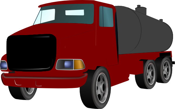 600x373 Landscape With Truck Trailer Clipart