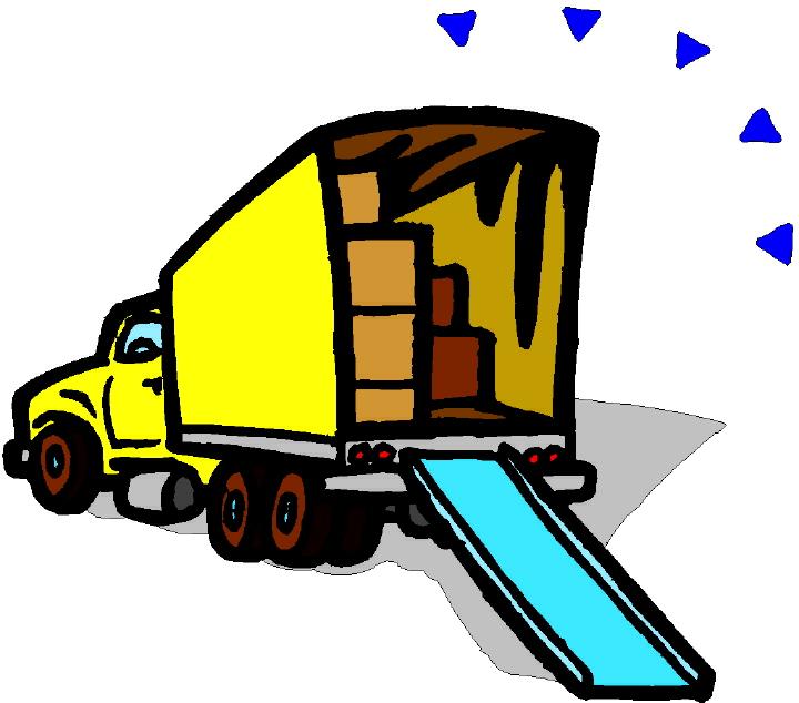 720x634 Moving Trucks Clipart