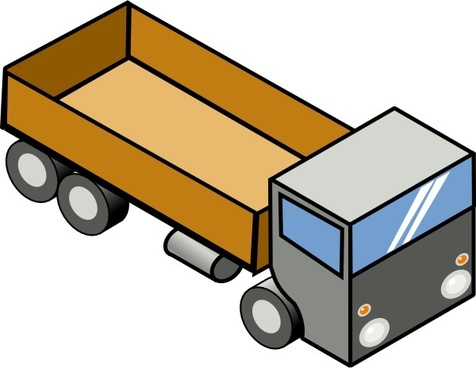 476x368 Truck And Trailer Vector Art Free Vector Download (215,530 Free