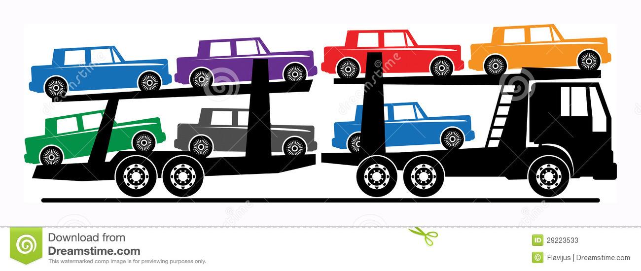 1300x550 Car Carrier Clip Art