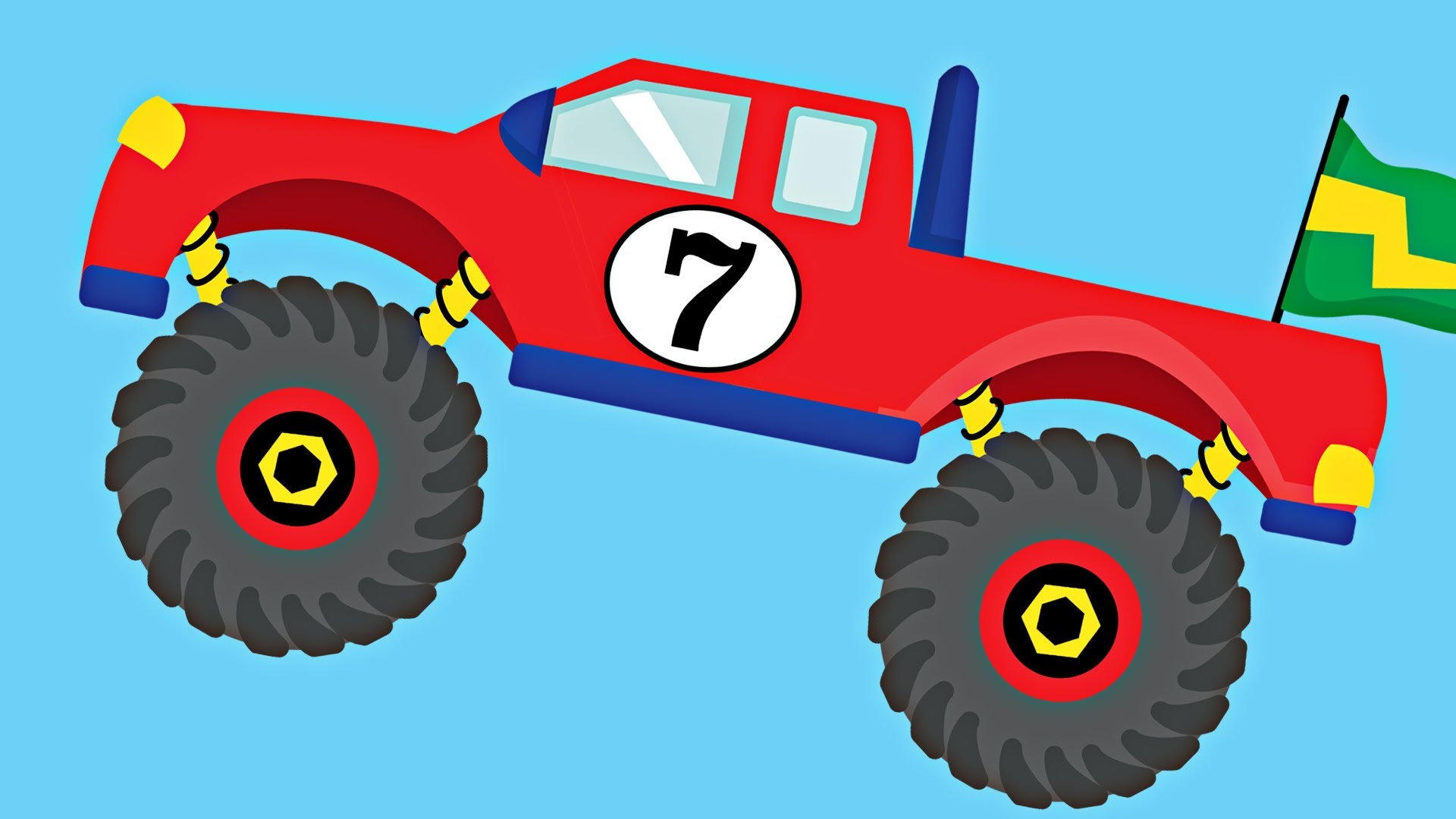 1920x1080 Monster Truck Truck Pictures For Kids Clip Art