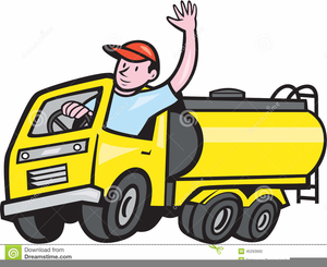 300x245 Clipart Oil Truck Driver Free Images