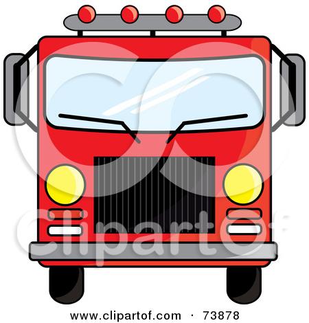 450x470 Fire Truck Driver Clipart