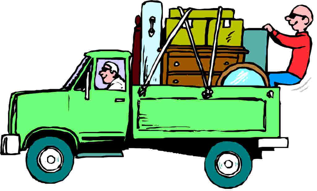 1024x617 Moving Truck Clip Art Clipart