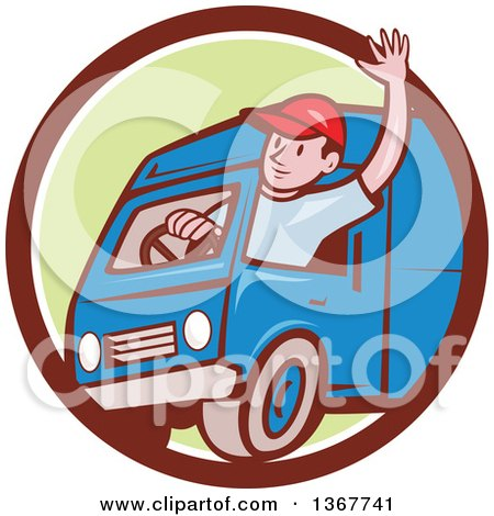 450x470 Royalty Free (Rf) Truck Driver Clipart, Illustrations, Vector