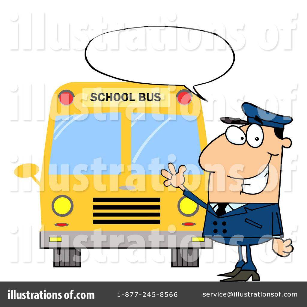 1024x1024 School Bus Driver Clipart