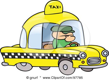 450x330 Taxi Driver Clipart