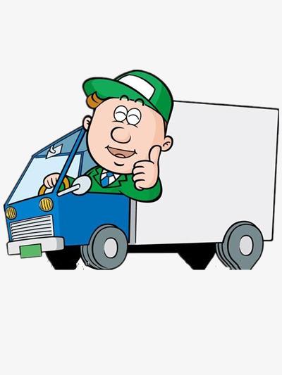 400x533 Truck Driver, Cartoon Car, Creative Cars, The Driver Element Png