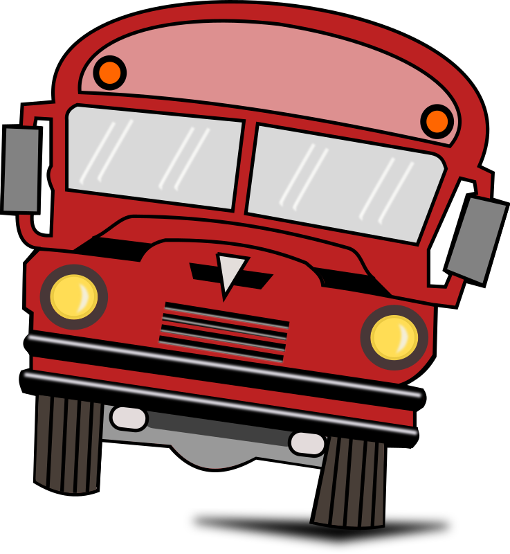 737x800 Bus Clipart Red Bus