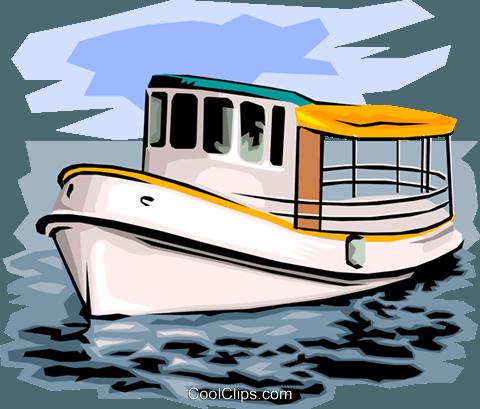 480x409 Fishing Boat Royalty Free Vector Clip Art Illustration Tran0511