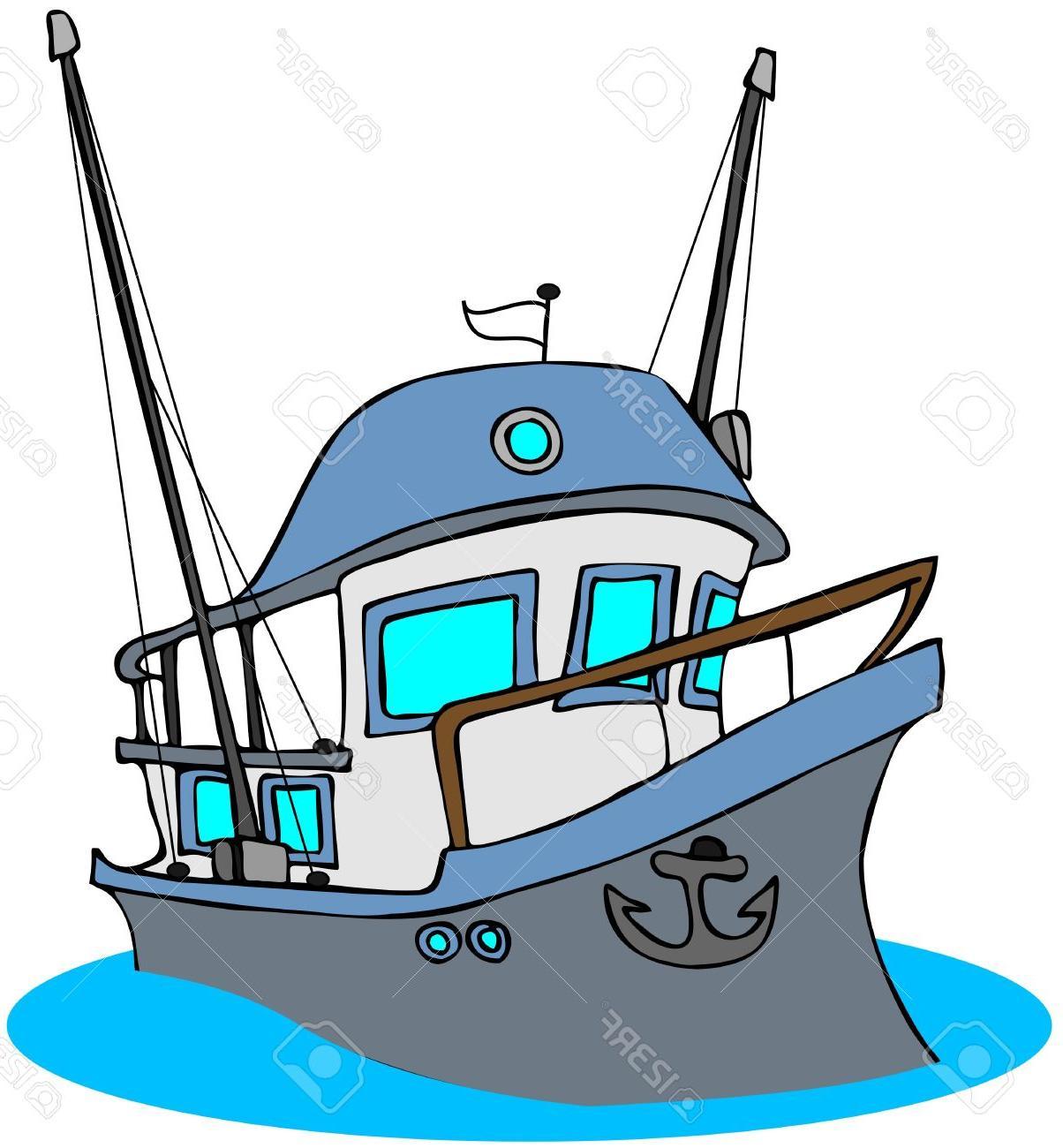 1204x1300 Top 10 Fishing Boat Clipart Cartoon Cdr