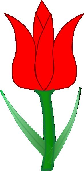 294x594 Red Tulip Clip Art Clipart Panda