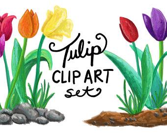 340x270 Tulip Diy Clipart Etsy