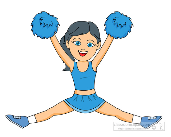 550x440 Free Cheerleading Clip Art Pictures
