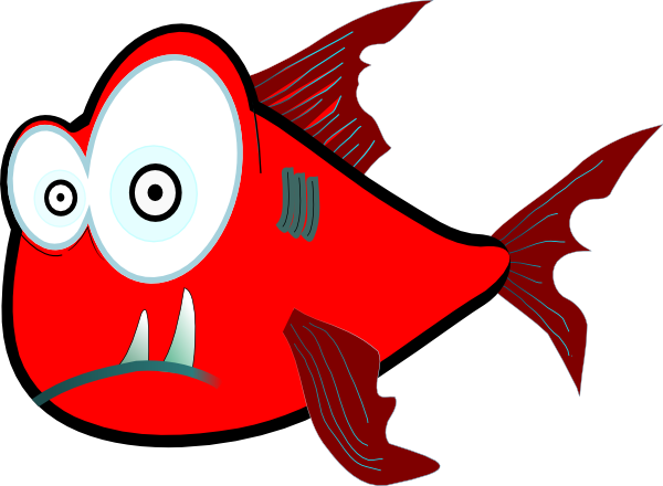 600x440 Nice Looking Piranha Clipart Vector Clip Art Eps Images 604 Angry