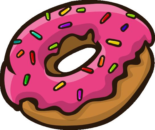 544x457 Donut Clipart Tumblr Clipartfox Clipartbarn Donut Clip Art