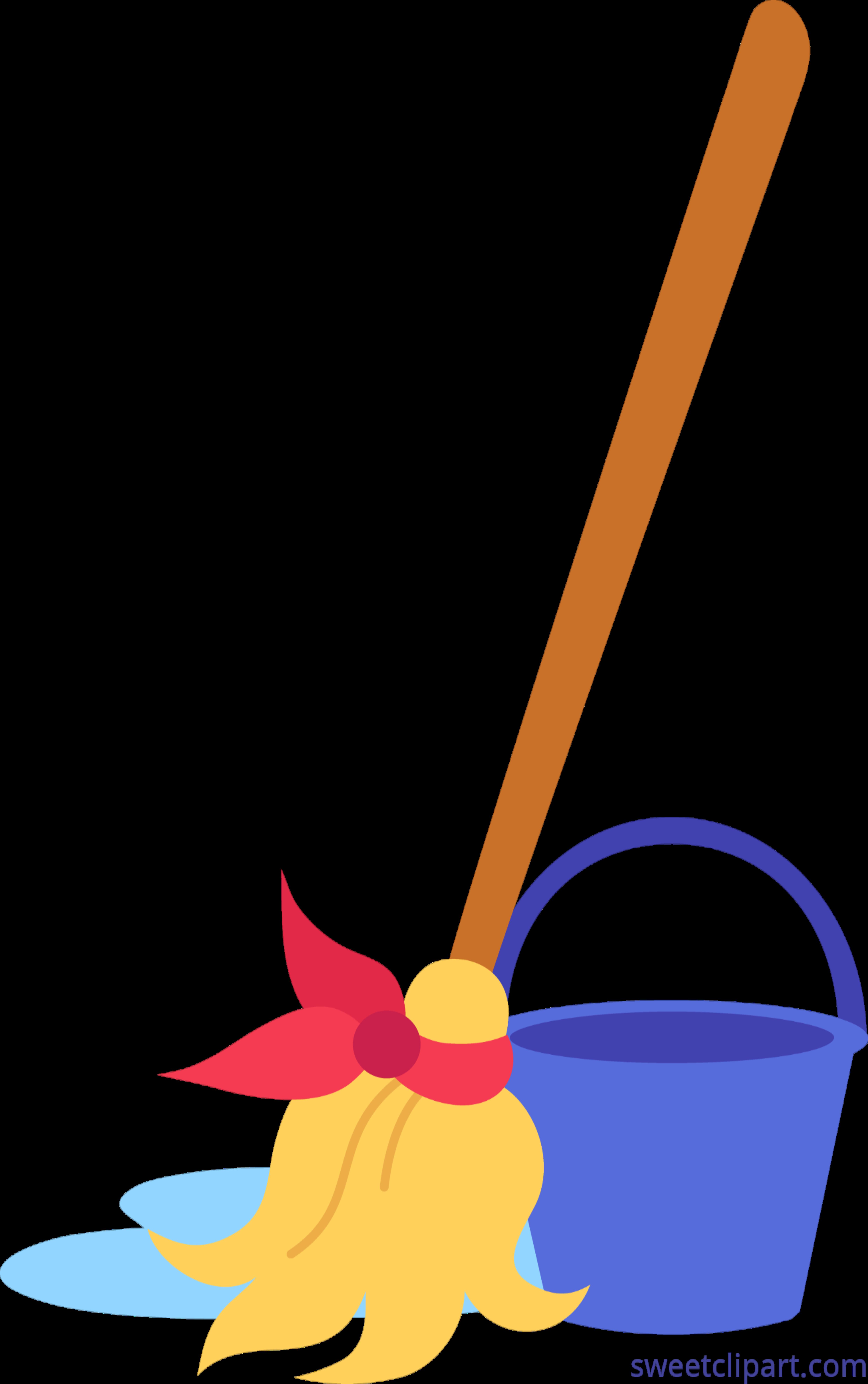 4968x7917 Mop Bucket Clip Art