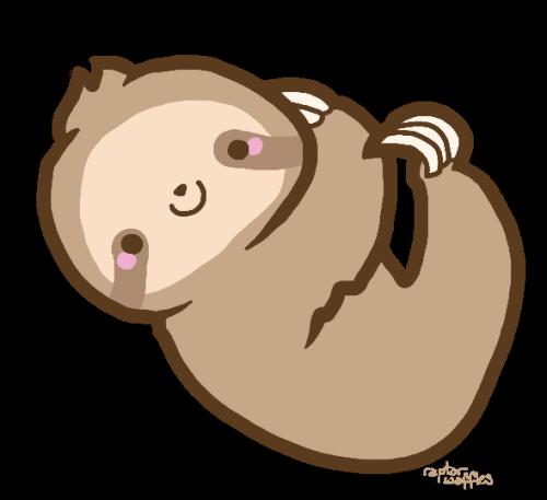 500x457 Opulent Ideas Sloth Clip Art Transparent Tumblr Overlays