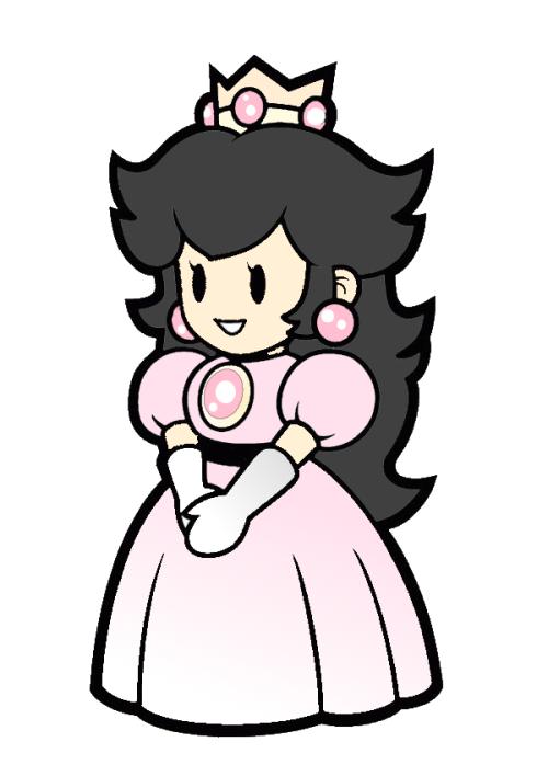 500x708 Princess Peach Clipart Transparent Tumblr