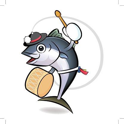 416x416 Korean Dance A Tuna Character Fresh Character Design Premium