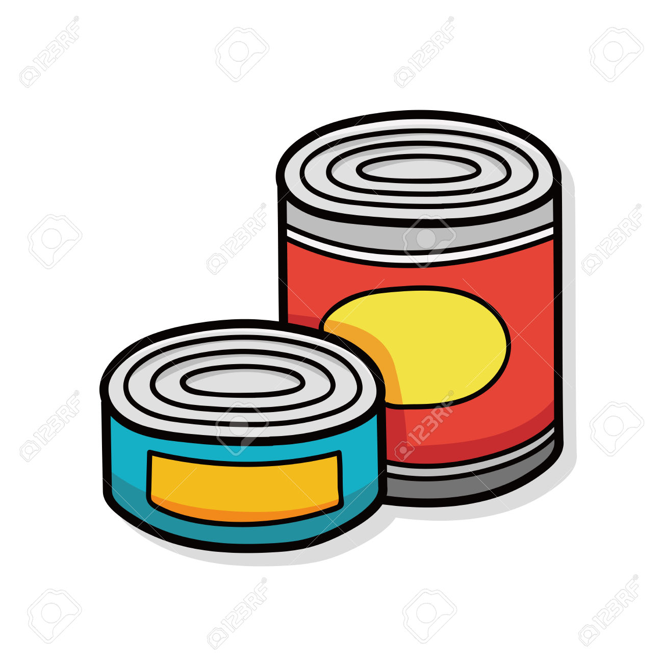 1300x1300 Tuna Clipart Canned Soup