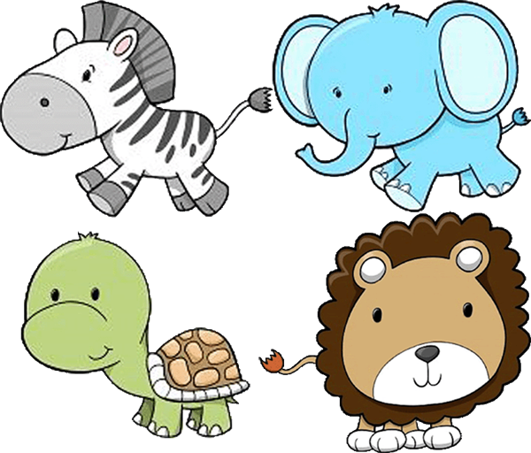 600x512 Animal Clipart Zoo Animals Free Download Clip Art