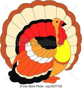 282x300 Turkey Bird Clipart Vector Turkey Bird Vectors Search Clip Art