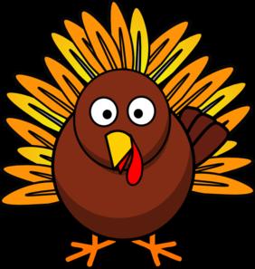 282x297 Turkey Clip Art