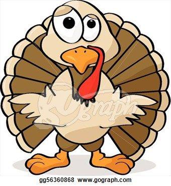 340x370 Turkey Clip Art Cartoon Clipart