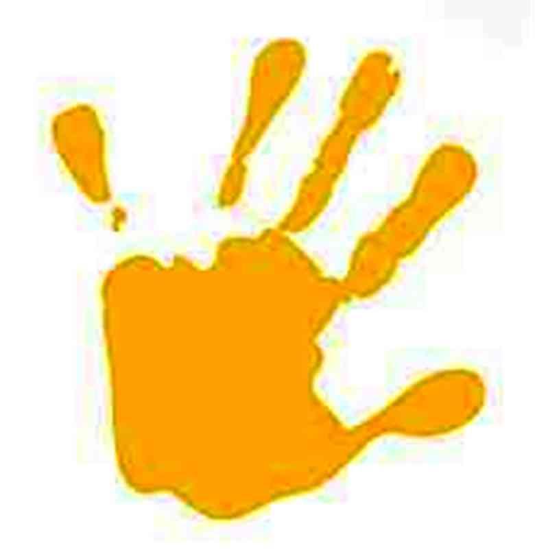780x805 Handprint Template. Hand Outline Gclipart Com. Blank Hand Template