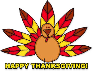 300x227 Happy Birthday Turkey Clipart