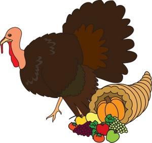 300x283 Animated Turkey Bird Clipart
