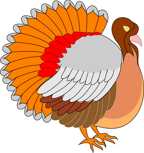 472x500 Thanksgiving Clip Art Thanksgiving Turkey Clipart Clipart