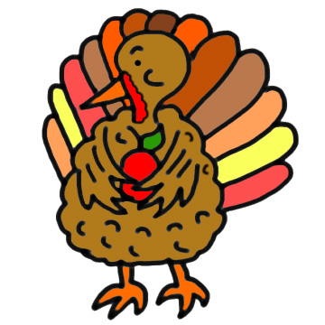 360x360 Top 85 Turkey Clip Art