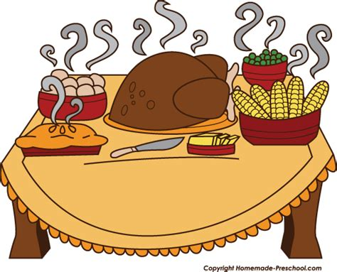 474x383 Table Of Food Clip Art
