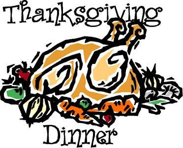 372x301 Thanksgiving Dinner Clip Art