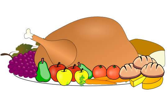 537x300 Turkey Dinner Clipart Clipart Panda