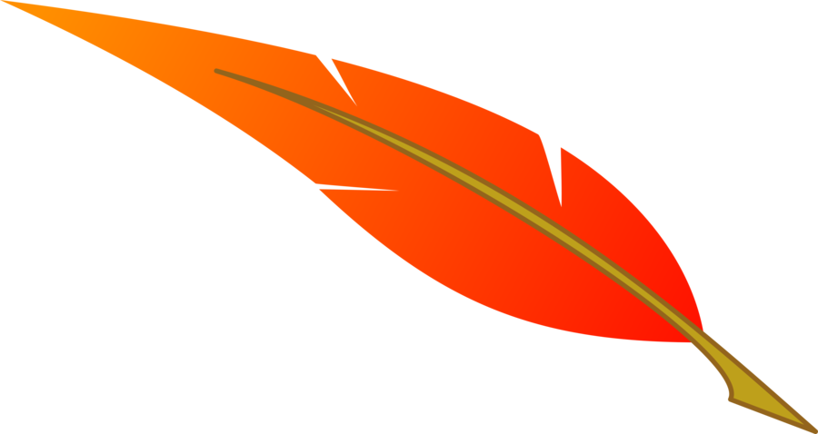 900x478 Orange Feather Clipart, Explore Pictures