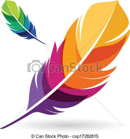 440x470 Feathers Clipart