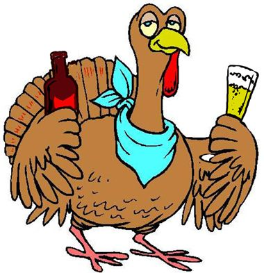 380x393 Funny Free Turkey Clip Art Click Hilarious Thanksgiving Day
