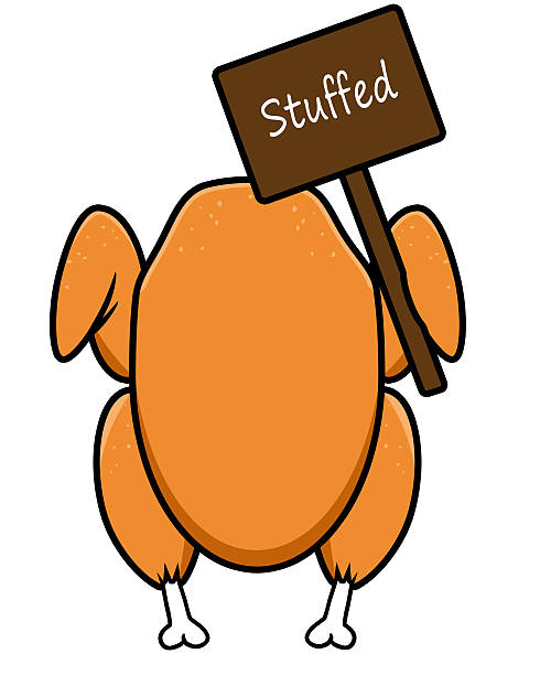 490x612 Collection Of Stuffed Turkey Clipart High Quality, Free