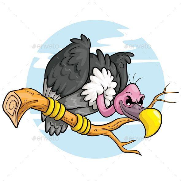 590x590 Cartoon Vulture Vulture, Cartoon And Font Logo