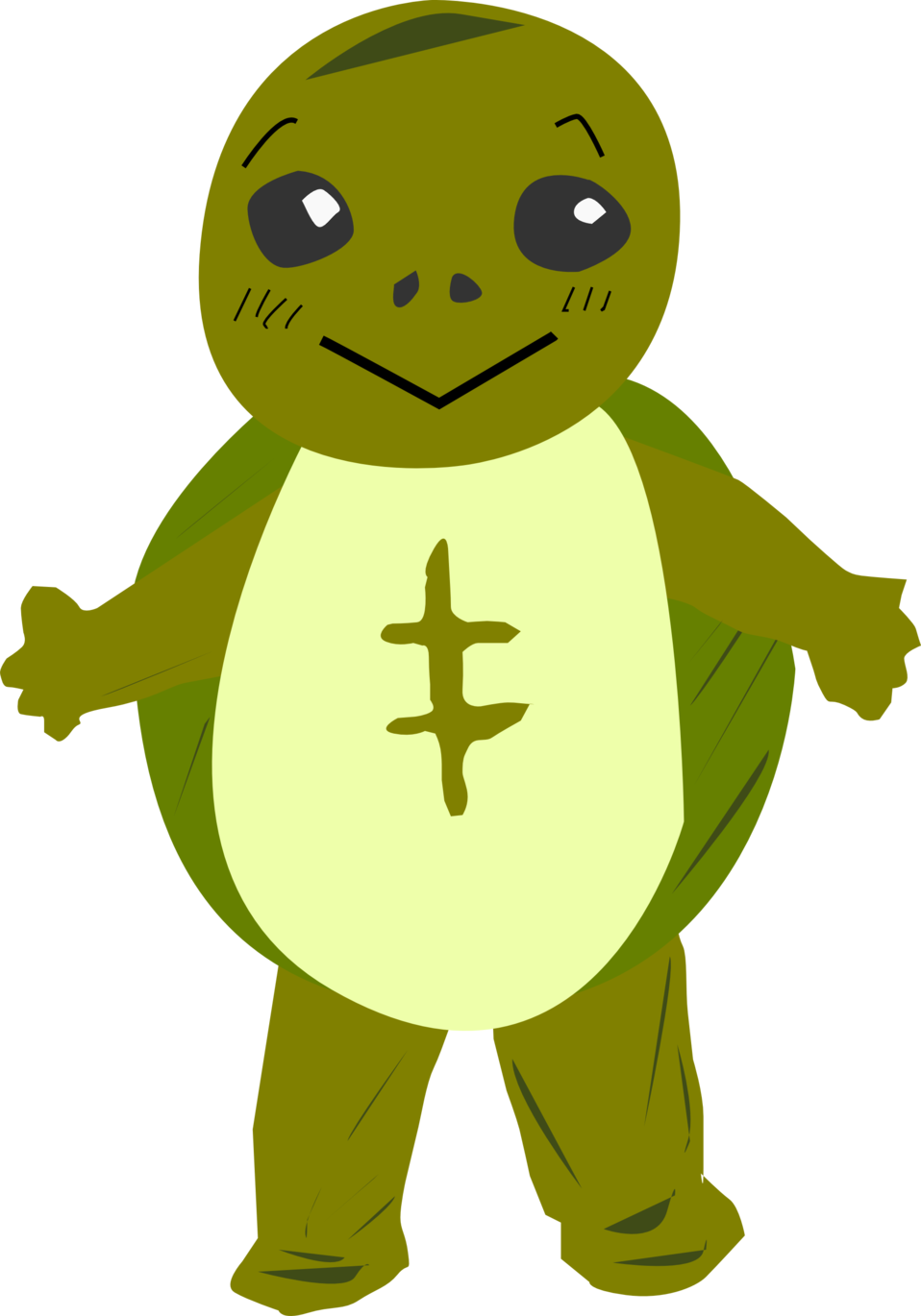 958x1370 Public Domain Clip Art Image Turtle Character Id