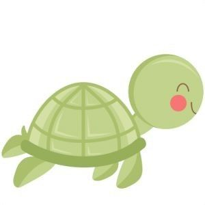 300x300 Cute Sea Turtle Because School Is Cool! Turtle