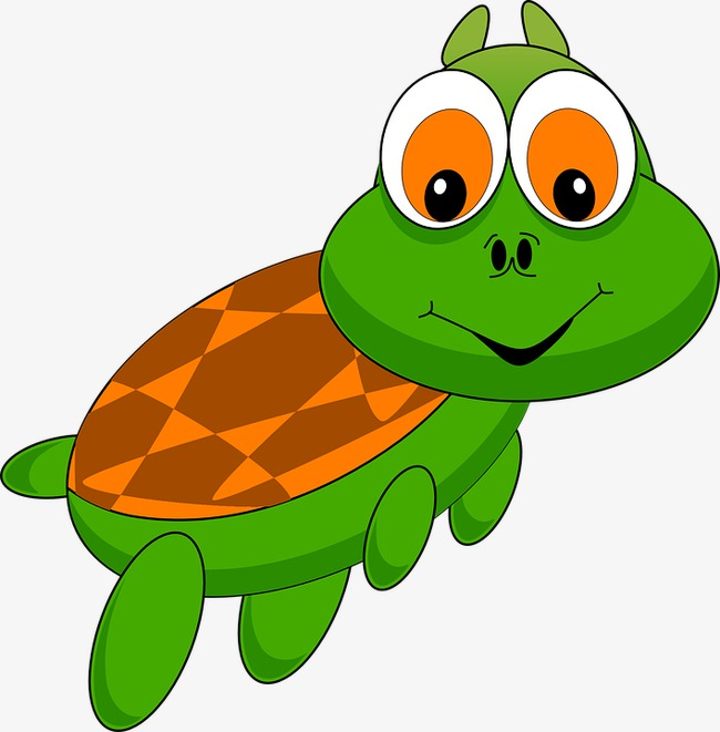650x661 Little Turtle, Shell, Eyes, Run Png Image And Clipart For Free